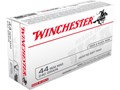 Product detail of Winchester USA Ammunition 44 Remington Magnum 240 Grain Jacketed Soft Point