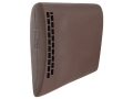 "Product detail of Butler Creek Deluxe Recoil Pad Slip-On 5-1/2"" x 1-3/4"" x 3/4"" Thick Rubber Brown Large"