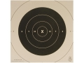 Product detail of NRA Official Pistol Targets Repair Center B-6C 50 Yard Slow Fire Tagboard Package of 100