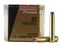 Product detail of Federal Premium V-Shok Ammunition 22 Winchester Magnum Rimfire (WMR) 30 Grain Speer TNT Jacketed Hollow Point