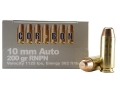 Product detail of Cor-Bon Hunter Ammunition 10mm Auto 200 Grain Round Nose Penetrator Box of 20