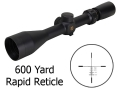 Product detail of Pride Fowler Rapid Reticle Special Ops Rifle Scope 3-9x 42mm First Focal 600 Yard Rapid Reticle Matte