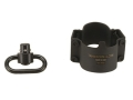 Product detail of TangoDown Sling Mount Adapter AR-15 fits A2 Stock Steel Matte