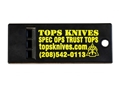 Product detail of TOPS Knives Survival Whistle Polymer Black Pack of 5