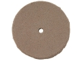 "Product detail of Cratex Abrasive Wheel Flat Edge 7/8"" Diameter 1/8"" Thick 1/16"" Arbor Hole Fine Bag of 20"