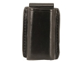 Product detail of Galco Quick Single Magazine Pouch FN Five-seveN (5.7x28mm) Pistol Magazines Leather Black