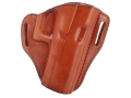 Product detail of Bianchi 57 Remedy Outside the Waistband Holster Right Hand Glock 19, 23, 32 Leather Tan