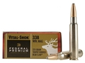 Product detail of Federal Premium Vital-Shok Ammunition 338 Winchester Magnum 225 Grain Speer Trophy Bonded Bear Claw Box of 20