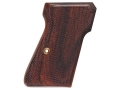 Product detail of Hogue Fancy Hardwood Grips Walther PP, PPK/S Checkered Cocobolo