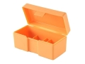 Product detail of Lyman 1-Die Storage Box Orange
