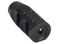 "Product detail of JP Enterprises Bennie Cooley TactiCal Muzzle Brake 223 caliber 1/2""-28 Thread .925"" Outside Diameter Steel Matte"