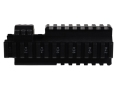 Product detail of ERGO Carbine Handguard Extension AR-15/M16/M4 4 Rail Aluminum Black