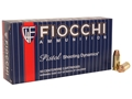 Product detail of Fiocchi Shooting Dynamics Ammunition 40 S&W 170 Grain Full Metal Jacket Truncated Cone Box of 50