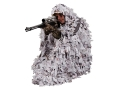 Product detail of Ameristep 3-D Poncho Polyester Ameristep Snow Tangle Camo