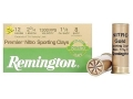 "Product detail of Remington Premier Nitro Gold Sporting Clays Target Ammunition 12 Gauge 2-3/4"" 1-1/8 oz #8 Shot High Velocity"