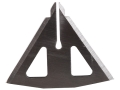 Product detail of Muzzy 4-Blade 100 Grain MX-4 Broadhead Replacement Blades Stainless Steel Pack of 12