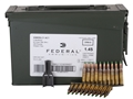 Product detail of Federal Ammunition 5.56x45mm NATO 62 Grain XM855 SS109 Penetrator Full Metal Jacket 10 Round Clips in Ammunition Can of 420 (14 Boxes of 30)