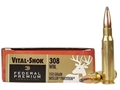 Product detail of Federal Premium Vital-Shok Ammunition 308 Winchester 150 Grain Nosler Partition Box of 20