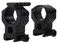 Product detail of Millett 30mm See-Thru Picatinny-Style Tactical Rings with Accessory Rail Matte