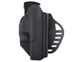 Product detail of Hogue PowerSpeed Concealed Carry Holster Outside the Waistband (OWB) Right Hand Glock 20, 21, 20SF, 21SF  Polymer Black