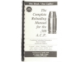 "Product detail of Loadbooks USA ""380 ACP"" Reloading Manual"