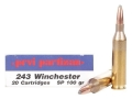 Thumbnail Image: Product detail of Prvi Partizan Ammunition 243 Winchester 100 Grain...