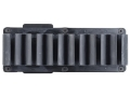 Product detail of TacStar SideSaddle Shotshell Ammunition Carrier 12 Gauge 6-Round Benelli M-4 Black