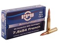 Product detail of Prvi Partizan Ammunition 7.5x54mm French MAS 139 Grain Full Metal Jacket Box of 20