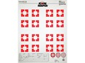 """Product detail of Champion Score Keeper AC3 Sight-In Targets 14"""" x 18"""" Paper Orange Bull Pack of 12"""