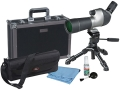 Product detail of Vanguard High Plains 560 Spotting Scope 15-45x 60mm Angled Body with Tripod and Hard Case Gray/Black