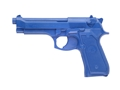 Product detail of BlueGuns Firearm Simulator Beretta 92F Polyurethane Blue