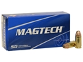 Product detail of Magtech Sport Ammunition 9mm Luger 95 Grain Jacketed Soft Point Box of 50