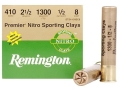 Thumbnail Image: Product detail of Remington Premier Nitro Gold Sporting Clays Ammun...