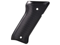 Product detail of Tactical Solutions Performance Grips Ruger Mark II, Mark III Checkered Aluminum Black