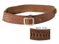Product detail of Oklahoma Leather Cowboy Drop-Loop Cartridge Belt 44, 45 Caliber Leather Brown Large
