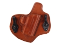 Product detail of Bianchi Allusion Series 135 Suppression Tuckable Inside the Waistband Holster Right Hand Springfield XDM Leather Tan