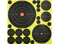 Product detail of Birchwood Casey Shoot-N-C Self Adhesive Targetss Variety Pack Package of 50