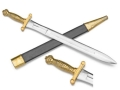 Product detail of Collector's Armoury Replica Civil War M1832 Artillery Short Sword Carbon Steel with Brass Handle
