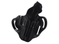 Product detail of DeSantis Thumb Break Scabbard Belt Holster Right Hand Sig Sauer P220, P226 Leather Black