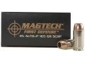 Product detail of Magtech First Defense Ammunition 45 ACP +P 165 Grain Solid Copper Hollow Point Lead-Free