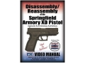 "Product detail of American Gunsmithing Institute (AGI) Disassembly and Reassembly Course Video ""Springfield Armory XD Pistols"" DVD"