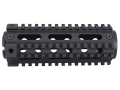 Product detail of Yankee Hill Machine 2-Piece Handguard Quad Rail AR-15 Carbine Length fits Colt Carbines Only Aluminum Matte