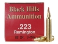 Thumbnail Image: Product detail of Black Hills Ammunition 223 Remington 60 Grain Hor...