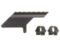 "Product detail of B-Square Shotgun Saddle Mount with 1"" Rings Remington 1100 Semi-Auto 20 Gauge Matte"