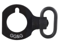 Product detail of GG&G Quick Detach End Plate Sling Mount Adapter with Heavy Duty Quick Detach Swivel Mossberg 930 12 Gauge Right Hand Aluminum Matte