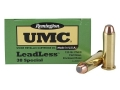 Product detail of Remington UMC Ammunition 38 Special 125 Grain Jacketed Flat Nose Enclosed Base Box of 50