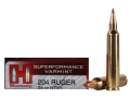 Product detail of Hornady Superformance Varmint Ammunition 204 Ruger 24 Grain NTX Lead-...