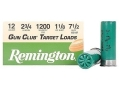 "Product detail of Remington Gun Club Target Ammunition 12 Gauge 2-3/4"" 1-1/8 oz #7-1/2 Shot"