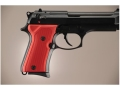 Product detail of Hogue Extreme Series Grip Beretta 92FS Compact Checkered Aluminum Matte