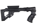 Product detail of Mako Tactical Side Folding Buttstock with Adjustable Cheek Rest Remington 870 Synthetic Black